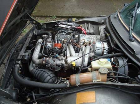 1978 Saab 99 Turbo engine