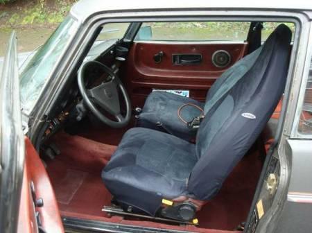 1978 Saab 99 Turbo interior
