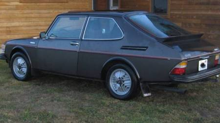 1978 Saab 99 Turbo left rear