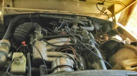 1980 Saab 99 GLi engine