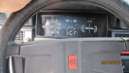 1980 Volvo 242GT dash