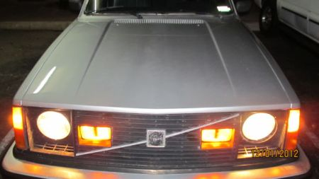 1980 Volvo 242GT lights