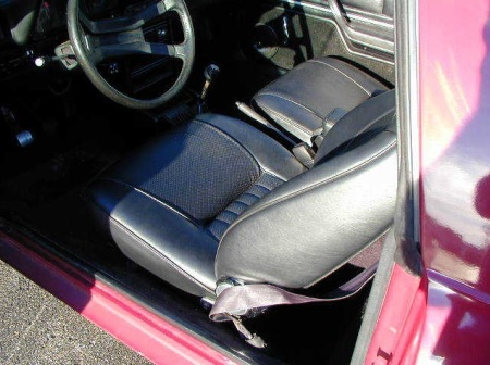 1983 Plymouth Scamp interior