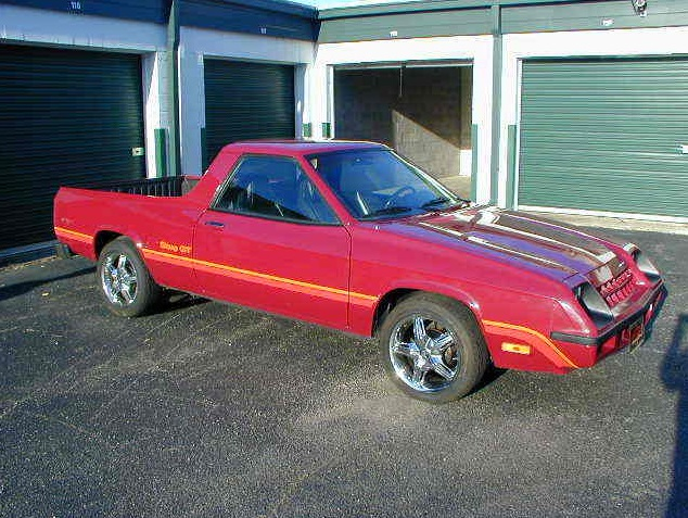Half Car Fever 1983 Plymouth Scamp Rusty But Trusty