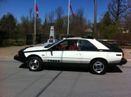 1984 Renault Fuego Turbo left side