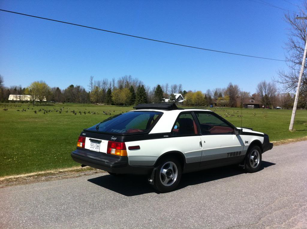 Fire 1984 Renault Fuego Turbo