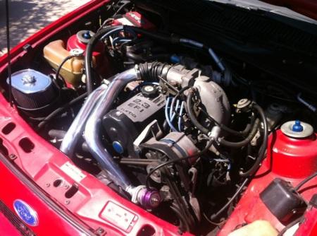 1985 Merkur XR4Ti engine