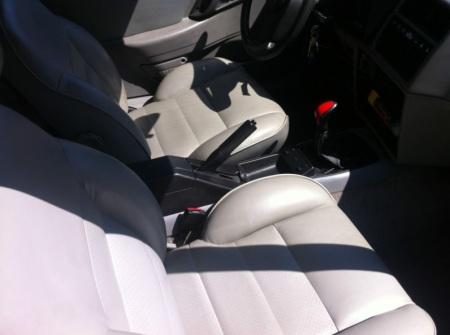 1985 Merkur XR4Ti interior