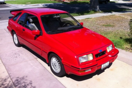1985 Merkur XR4Ti right front