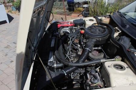 1985 Renault Encore engine