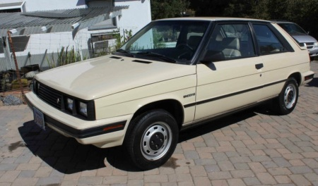 1985 Renault Encore left front