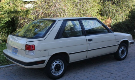 1985 Renault Encore right rear