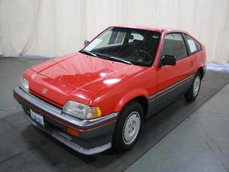 1986 Honda CR-X left front
