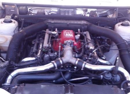 1987 Maserati BiTurbo Si engine
