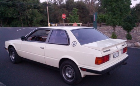 1987 Maserati BiTurbo Si left rear