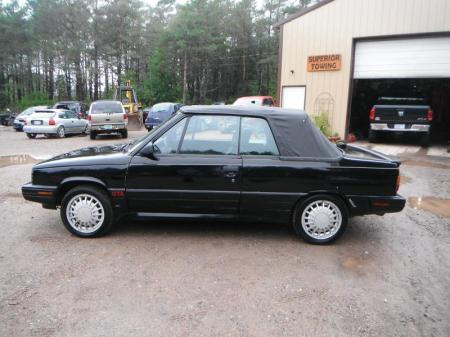 1987 Renault Alliance GTA black left side