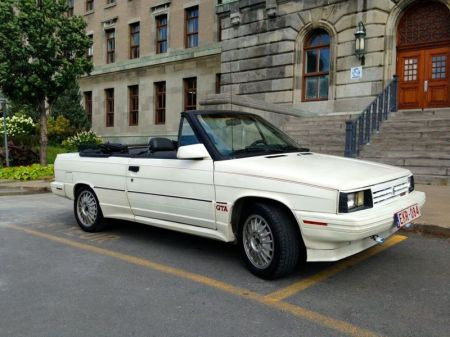 1987 Renault Alliance GTA white right front
