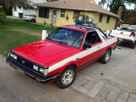 1987 Subaru Brat right front