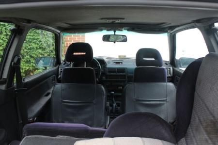 1988 Mazda 323 GTX interior