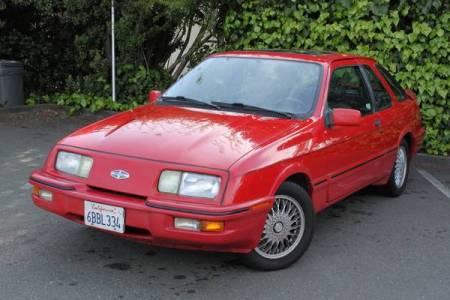 1988 Merkur XR4Ti left front