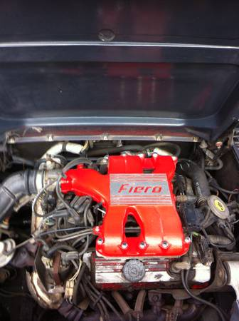 1988 Pontiac Fiero engine