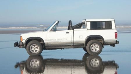 1989 Dodge Dakota convertible left