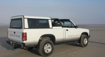 1989 Dodge Dakota convertible right rear