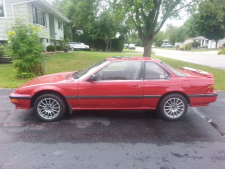 1989 Honda Prelude Si 4WS left side