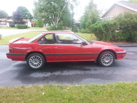 1989 Honda Prelude Si 4WS right side