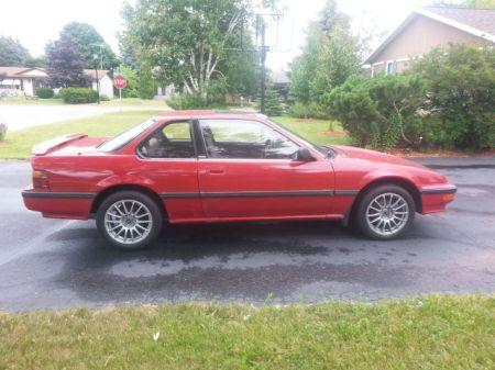 1989 Honda Prelude Si 4WS right side