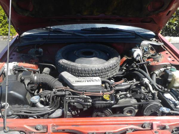 Subaru Loyale Engine Bay Problems And Solutions