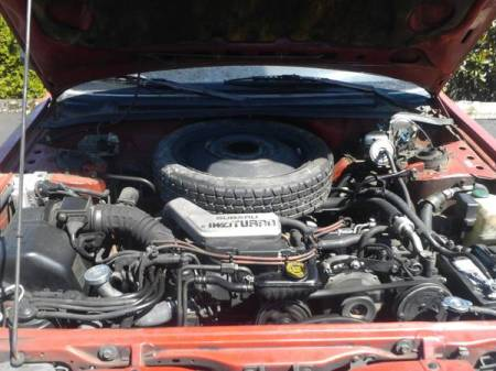 1990 Subaru Loyale Turbo Wagon engine