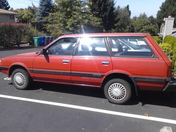 1990 Subaru Loyale Wagon Images Frompo