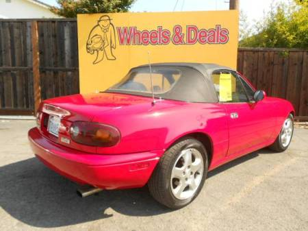 1992 Mazda Miata right rear