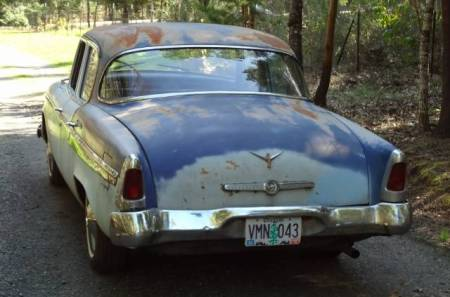 1955 Studebaker Commander left rear