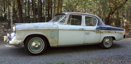 1955 Studebaker Commander left side