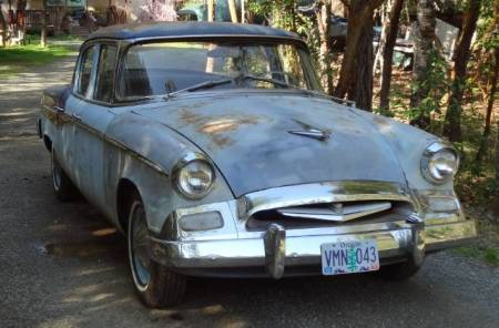 1955 Studebaker Commander right front