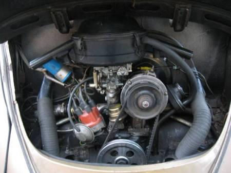 1964 Volkswagen Beetle engine