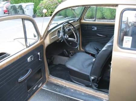 1964 Volkswagen Beetle interior