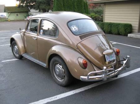 1964 Volkswagen Beetle left rear