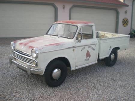 1965 Datsun 320 left front