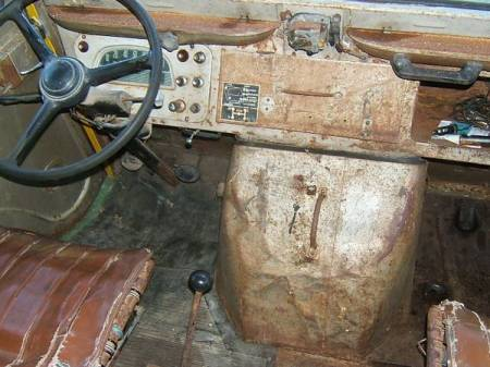 1967 Citroen HY interior