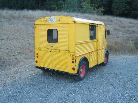 1967 Citroen HY right rear