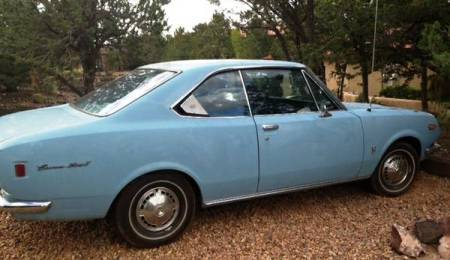 1968 Toyota Corona Mark 2 right rear