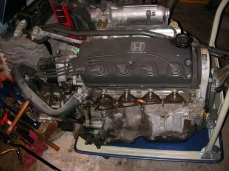 1969 Austin America red Honda engine