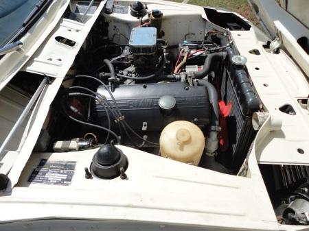 1969 BMW 1602 engine