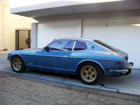 1974 Datsun 260Z left rear