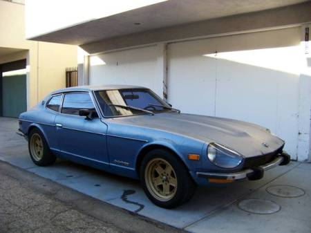 1974 Datsun 260Z right front