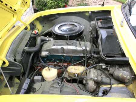 1974 Opel Manta engine