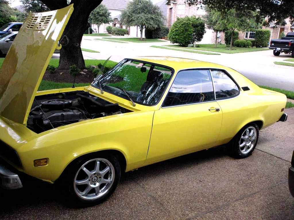 Yellow Fish 1974 Opel Manta Rusty But Trusty